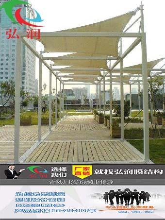 苏州膜结构走廊