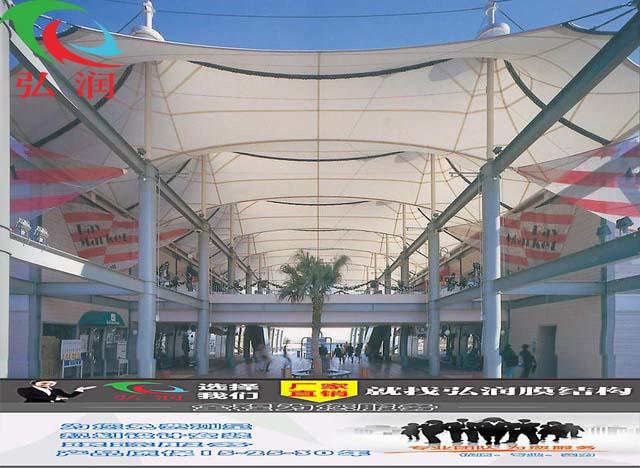 苏州购物中心膜结构