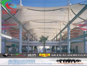 苏州购物中心膜结构公司张拉膜公司