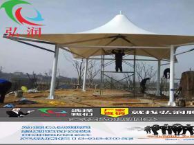苏州膜结构遮阳雨棚